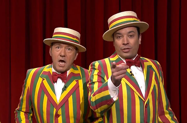 Kevin Spacey et Jimmy Fallon interprètent « Talk Dirty » à leur manière