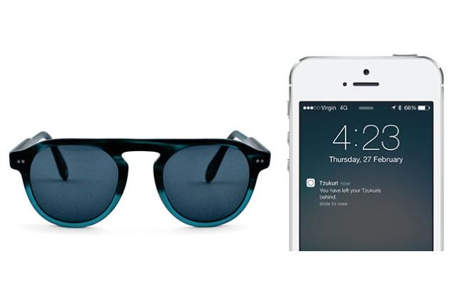 Des lunettes de soleil qui envoient un texto quand on les oublie