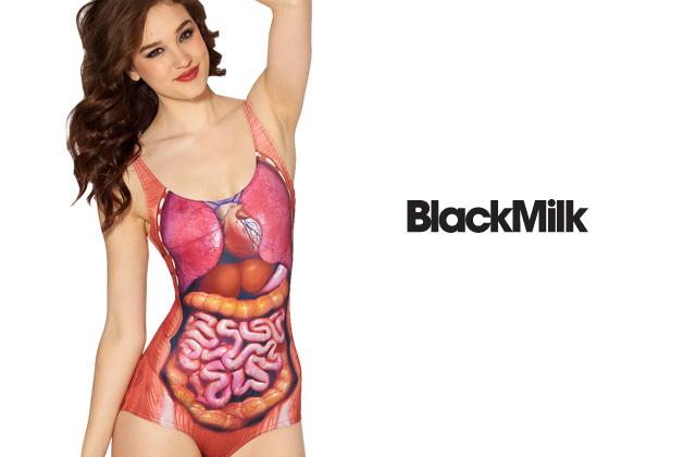 Le maillot de bain organes apparents de BlackMilk — WTF Mode