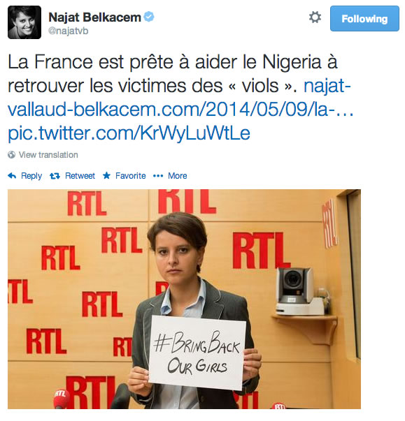 bring back our girls najat vallaud belkacem