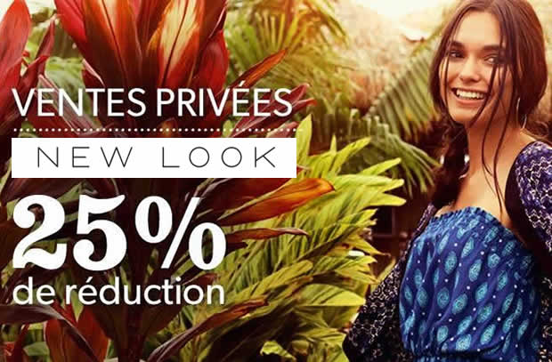 ventes privées new look