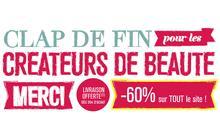 -60% sur le site du Club des Créateurs de Beauté !