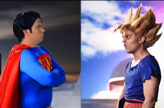 Superman vs. Goku, l'Epic Rap Battle des gros durs