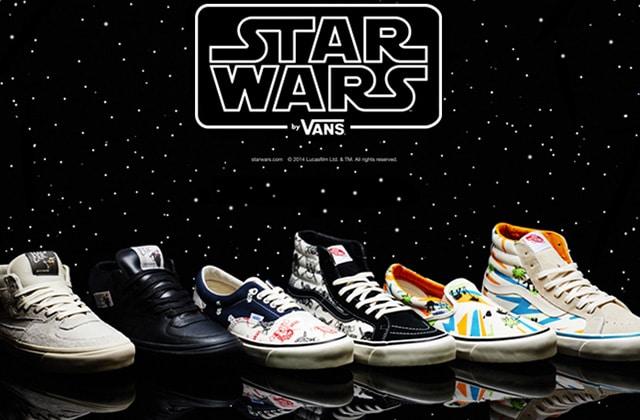 Vans rend hommage à Star Wars avec une collection de baskets imprimées