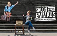 Le 15ème salon Emmaüs au parc des expositions de Paris, c'est dimanche !