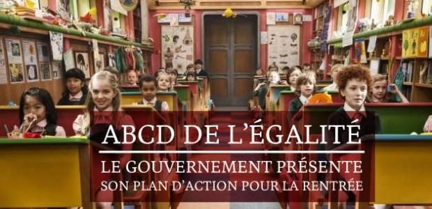 ABCD de l'égalité : le gouvernement présente son plan d'action pour la rentrée
