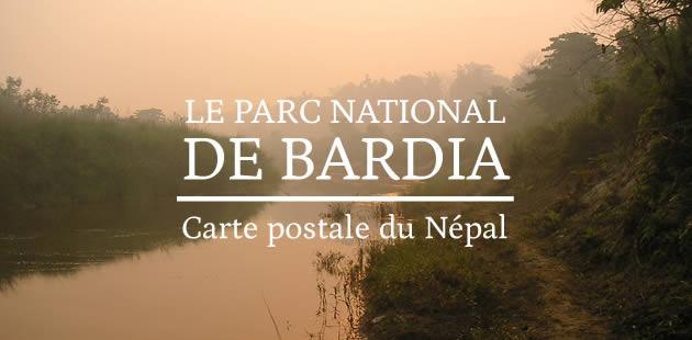 Le parc national de Bardia — Carte postale du Népal