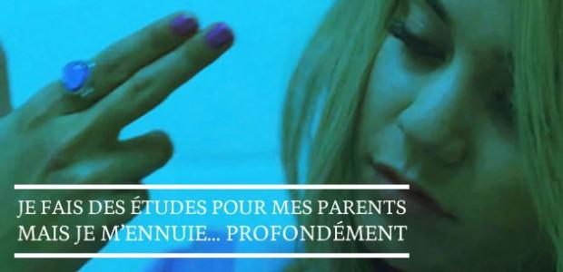 Je fais des études pour mes parents mais je m'ennuie… profondément