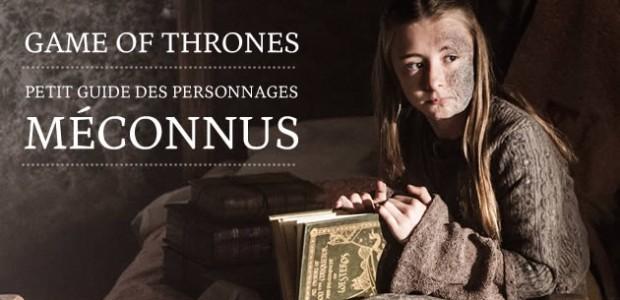 Game of Thrones : petit guide des personnages méconnus #2