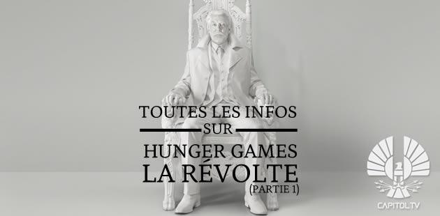 « Hunger Games — La Révolte » (partie 1) : le trailer arrive bientôt !