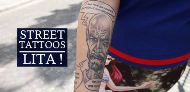 Street Tattoos — Lita et ses pièces pop culture