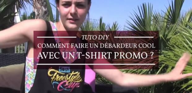 Tuto DIY – Comment faire un débardeur cool avec un t-shirt promo ?