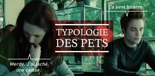 Typologie des pets