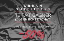 Urban Outfitters vous fait gagner 500€ de bons d'achat !