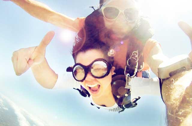 J'ai testé pour vous… le saut en parachute