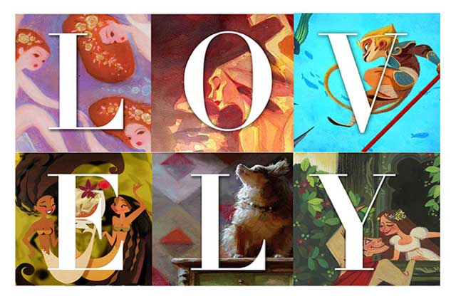 Lovely : Girls of animation — L'expo des illustratrices Disney à Paris