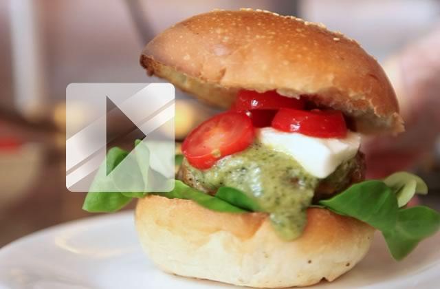 la recette du mad burger en vid o. Black Bedroom Furniture Sets. Home Design Ideas