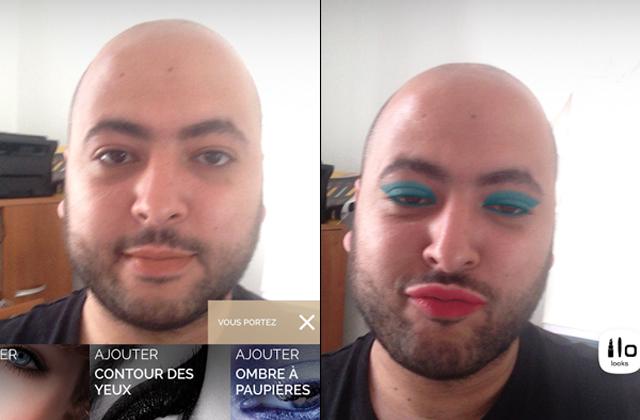 Makeup Genius, la nouvelle appli stylée de L'Oréal Paris