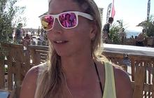 Marie Desandre Navarre, vice-championne du monde de kitesurf vitesse
