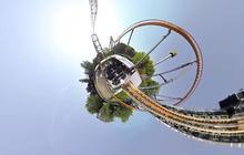 Les montagnes russes vue en GoPro, pour une vue vertigineuse