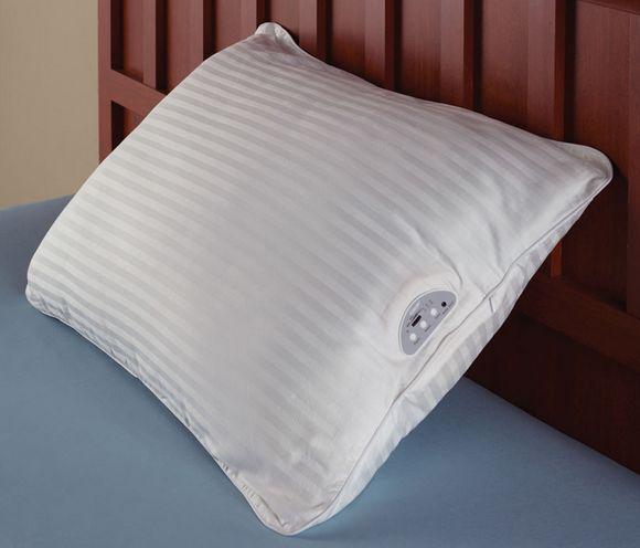 l 39 oreiller qui fait du son l 39 objet pas si wtf du jour. Black Bedroom Furniture Sets. Home Design Ideas