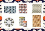 Orla Kiely crée une collection de déco pour Monoprix