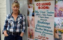 Le premier salon de tatouage… pour enfants
