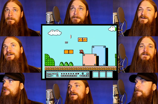 Super Mario Bros. 3 chanté a capella !