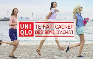 Lien permanent vers Uniqlo te fait gagner 5×100€ de shopping !