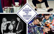 3×2 places à gagner pour l'Electro Pop Party de Virgin Radio !