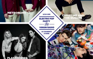 Lien permanent vers 3×2 places à gagner pour l'Electro Pop Party de Virgin Radio !