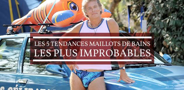 Les 5 tendances maillots de bains les plus improbables