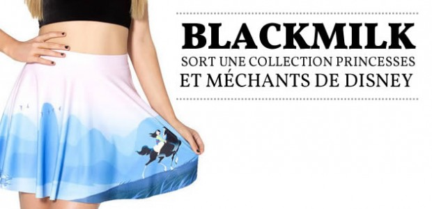 BlackMilk sort une collection princesses et méchants de Disney