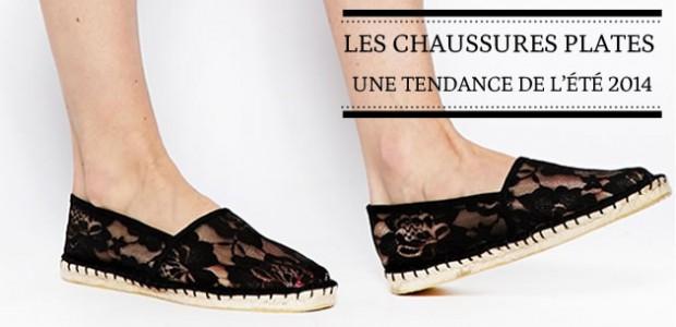 Les chaussures plates — Une tendance de l'été 2014