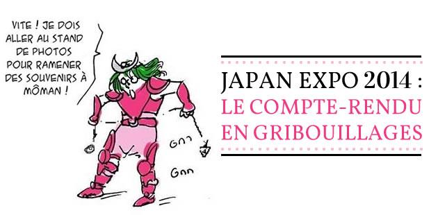Japan Expo 2014 : le compte-rendu en gribouillages
