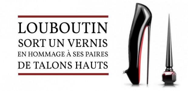Louboutin sort un vernis en hommage à ses paires de talons hauts