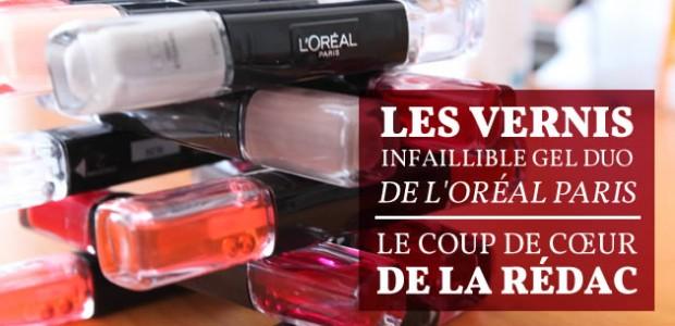 Les vernis Infaillible Gel Duo de L'Oréal Paris : le coup de cœur de la rédac