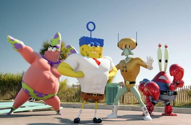 Bob l'Éponge 2, le film, a une nouvelle bande-annonce WTF