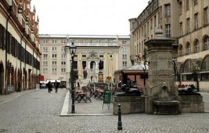 Lien permanent vers Carte postale d'Allemagne (de l'Est) : Leipzig la musicale
