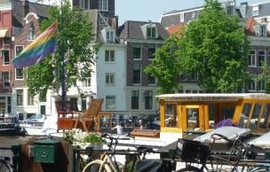 Lien permanent vers Amsterdam, côté LGBT — Carte postale des Pays-Bas