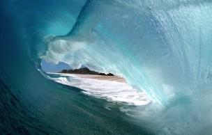 Lien permanent vers L'intérieur des vagues, les photos fascinantes de Clark Little