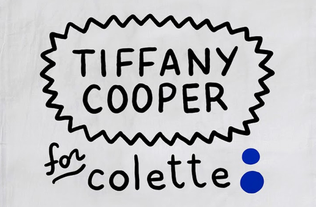Tiffany Cooper sort une collec inspirée de la culture mode chez Colette