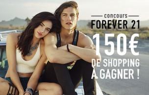 Lien permanent vers Concours Forever 21 — 150€ de shopping à gagner !