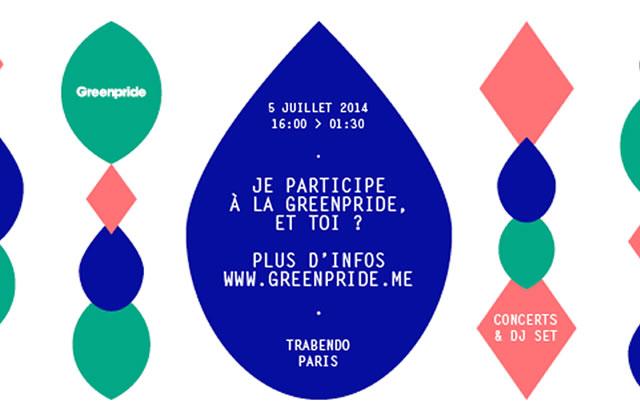 La Greenpride, c'est aujourd'hui à Paris !