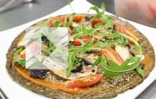 Recette : la pizza crue du restaurant 42 degrés