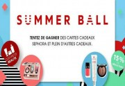 Lien permanent vers Sephora lance son « Summer Ball » 2014 !
