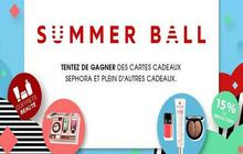 Sephora lance son «Summer Ball » 2014 !