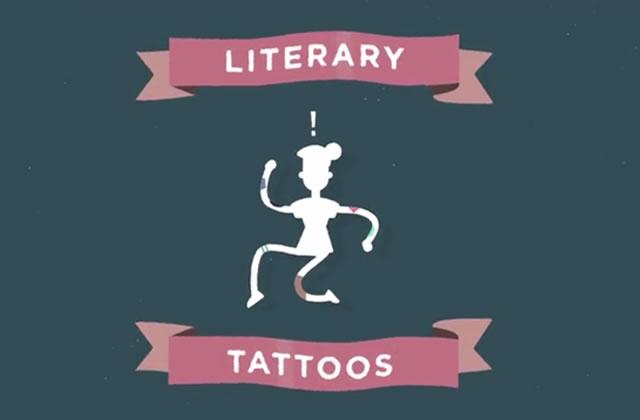 Alice au Pays des Merveilles réécrit en tatouages temporaires sur 2500 personnes