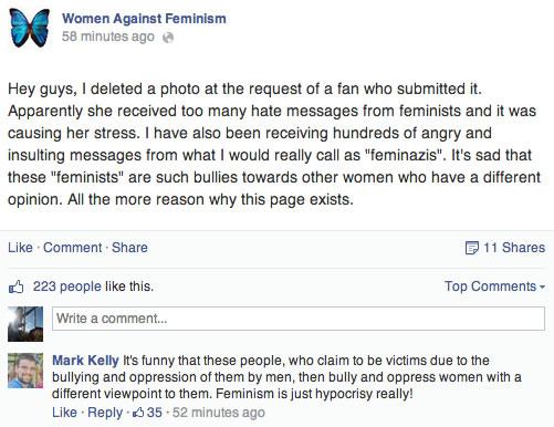 « Femmes contre le féminisme » : décryptage dun paradoxe waf tromper de cible