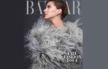 La petite-fille d'Audrey Hepburn lui rend hommage dans le Harper's Bazaar